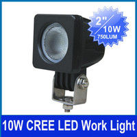 Wholesale 10 x quot W CREE CHIP LED WORK LIGHT SUV ATV TRACTOR MOTORBIKE CRANE V DC SPOT BEAM lm IP67