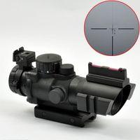 Rifle Scopes sniper scope - Sniper X32 Red Green Blue Illuminated Reticle Scope Black