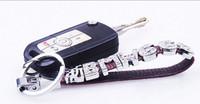 Wholesale key chains car auto letters digital set auger mobile phone pendant key chain key ring