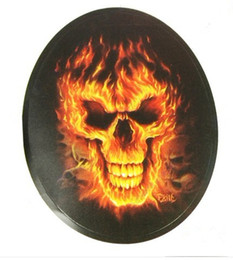 Wholesale Cool X FlaMes Skull Motorcycle Car Auto Racing Decal Sticker