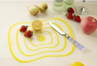 Wholesale High Quality NEW Ultra thin Flexible PP Chopping Cutting Board Mat