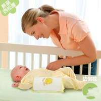 Wholesale one Nishimatsu house Babies shape pillow correct the flat head anti roll pillow baby pillow