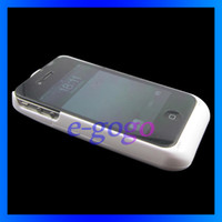 Wholesale New mAh External Battery Backup Power Charger Case Hard Cover with stand holder for iPhone S