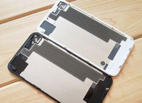 Wholesale Glass Back Battery Cover Housing Battery Door for iphone S GS Black White