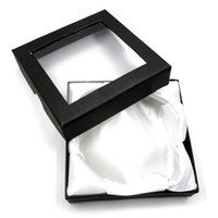 Wholesale 40x Jewelry Wedding Storage Organizer Packing Black Box Case Fit Bracelet