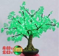 Wholesale Indoor Shining Led bonsai Cherry Tree Light