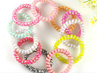 Wholesale Fashion Decorative pattern Hair Rubber Bands With Elastic Cable Rope Headband Hair Holder Ornament