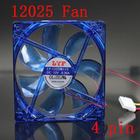 Wholesale Mute MM MM Fan Cooler For PC Computer Mainframe Box Cooling
