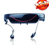 Wholesale 72 quot virtual screen video glass mp4 portable Eyewear Mobile Theatre GB