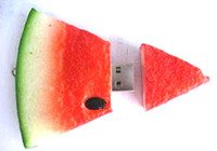 Wholesale real gb gb gb Fruit watermelon Shape USB Flash Drive Pen Drive Memory Stick US0010