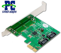 Wholesale SATA III Internal Gbps Ports PCI e adapter Card Chipset ASM1061