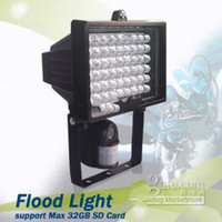 Wholesale Hidden camera Spy camera motion detect camera security LEDs flood light Discount