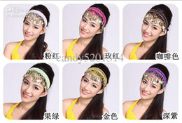Wholesale 2pcs dance accessories belly dance headdresses colors for choosing