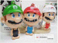 Wholesale Beauty mirror Japan popular PMNTA cartoon portable Mario makeup mirror Lady makeup mirror