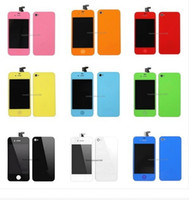 Wholesale For iPhone G GSM Display Digitiz LCD Screen Color Before Shell Back cover