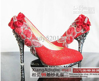 Wholesale Love the new bride wedding shoes noble diamond shoes multicolor bride preferred CM