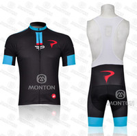 Wholesale new fashion black pinarello outdoor short SLEEVES cycling JERSEY bib shorts