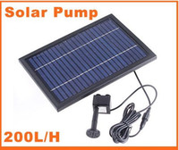 Wholesale Polycrystalline Silicon Solar Brushless Pump Water Cycle Pond Fountain