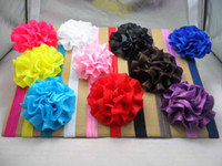 Wholesale Children s Crochet headband baby hair bands girl Crochet hair band soft Multi Colored