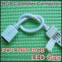 Wholesale 20pcs G67 LED to IRcontroller Connector P With Wire For mm Width RGB LED Strip