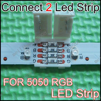 Wholesale 100pcs G69 LED to LED Connector P For mm Width RGB LED Strip