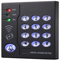 Wholesale Brand New User Proximity RFID Khz EM ID Card Plastic Access Control Keypad Standalone Access Control
