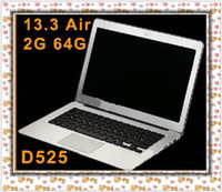 Wholesale EMS inch Dual Core G Super Slim Air Laptop Intel D525 Ghz G WIFI Notebook Computer EH