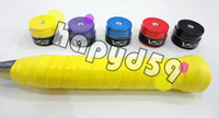 Wholesale 60pcs free ship VS badminton sweatband non slip grip racquet overgrip tennis grip squash overgrip