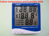 Wholesale Indoor temperature and humidity the table VICTOR230 thermometer hygrometer packaged a set of