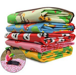 Wholesale Outdoor essential Beach mats Picnic mat Baby Crawling Maps Children s Game blanket