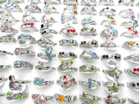 wedding rings - 2012New Colorful Diamond Rings Sizes Designs Mixed Silver Rings Wedding Rings The Ring Good Quality