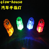 big lot cars - Pieces Dazzling Car Shape Laser Fingers Beams Party Flash Toys LED Lights Toy