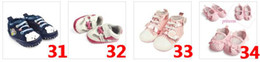 Wholesale EMS Mixed styles Kids Baby Infant Shoes pre walker shoe babies walking shoes Mothercare shoes