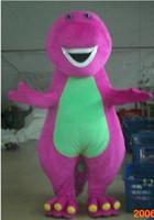 Mascot Costumes barney plush halloween costumes - Barney dragon plush Cartoon party Mascot Costume