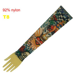 Wholesale 10x Fancy Dress Sleeve Tattoo Arm Sleeves Fashionable Design T8