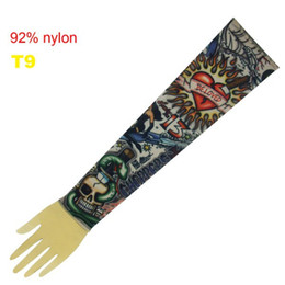 Wholesale 10x Cool Dress Sleeve Tattoo Arm Sleeves Popular Design T9