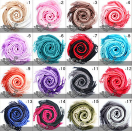 Hottest Scarf jewelry gradient color scarves fashion design scarves for women girls 12color