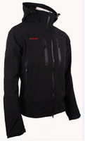 Wholesale Men HoodedWindstopper SoftShell Jacket