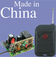 Wholesale 1CH Momentary RF Wireless Radio TX TCW200 amp RX RR1 M