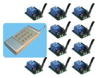 Wholesale 1 to System RF Wireless Radio Switch Remote amp Receiver