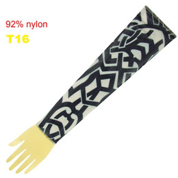 Wholesale 10x Novelty Stripes Tattoo Sleeves Arm Tattoo Ideas Sleeves Fashion Tattoo Designs T16