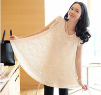 Wholesale New Factory Sale Lace Maternity Clothing Maternity Dress Pregnant women dress Blank White