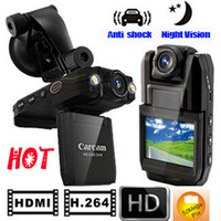 Wholesale Classic HOT Full HD P HDMI H Car DVR Vehicle Video Camera Support Motion Detect Night Vision