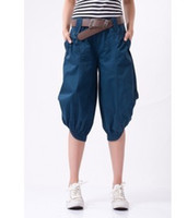 Wholesale Hot Sale Specials new fashion brand shorts leg pants loose large size women s casual pants