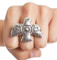 Wholesale Thunderbird Ring Adjustable Size