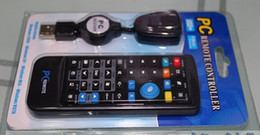 Wholesale Newest Wireless G USB PC Remote Control Controller for Desktop Laptop with Mouse Keyboard