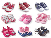 Wholesale designs for choose pairs fashion baby boy girl shoes infant footwear