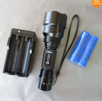 2pcs UltraFire C8 1300Lm CREE XM- L LED 5- modes Flashlight + ...