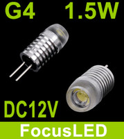 Wholesale Newest White G4 Base DC V W LED Landscape Light Led Bulb Lamp Led Car Lights Beam Angle