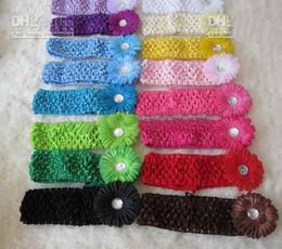 Wholesale 200pcs Inch Flower Hair Clips Gerber Flower Hair Bow Clip Inch Crochet Headband k